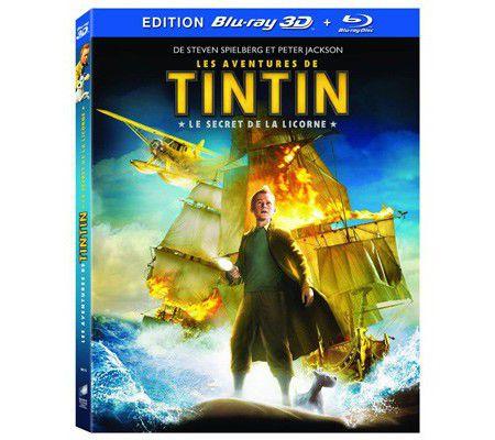 Les aventures de Tintin /Blu-ray 3D (Spielberg)