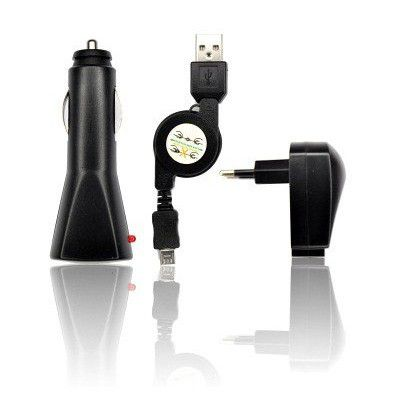 Chargeur 3 en 1 pour micro usb