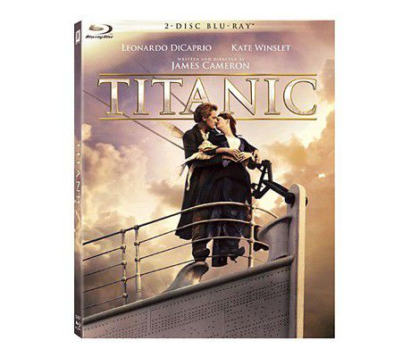 Titanic Blu-ray (restauration 4K / 2012)