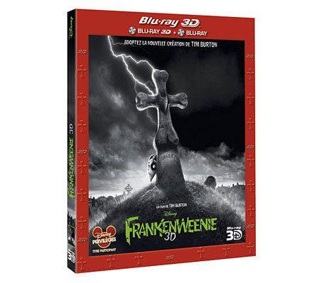 Frankenweenie (Tim Burton / test 2D et 3D)