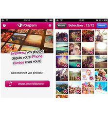 Polagram : imprimez vos photos en 3 clics