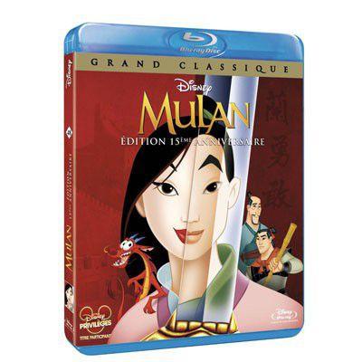 Mulan, Disney donne le coup d'envoi de 14 oeuvres rééditées en Blu-ray !