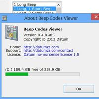 Beep Codes