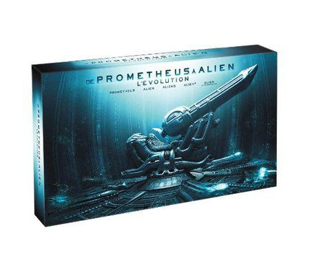 De Prometheus à Alien, l'évolution - Collector 9 BR 3D