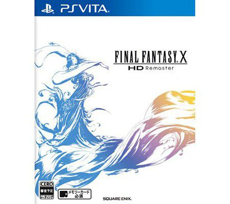 Final Fantasy X/X-2 HD Remaster PS Vita