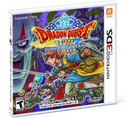 Dragon Quest VIII : L'odyssée du Roi Maudit 3DS