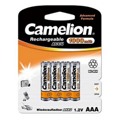 Camelion AAA / HR03 NiMH 1000mAh: Promesse non tenue