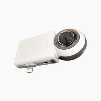 Giroptic iO 360: la vidéo à 360° au smartphone (un peu trop) simplifiée