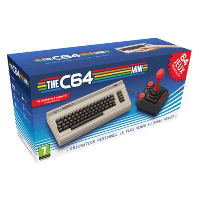 Console retrogaming C64 Mini : le retour bancal de l'empereur Commodore