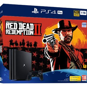 PlayStation 4 Pro 1 To Red Dead Redemption 2