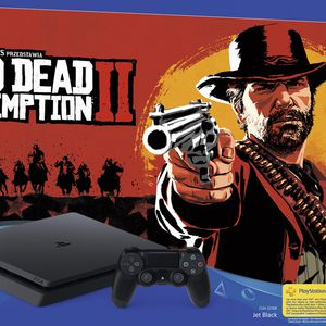 PlayStation 4 500 Go Red Dead Redemption 2