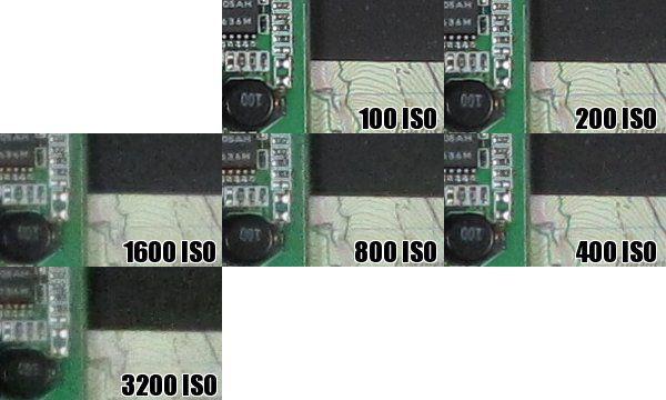 Canon SX230 HS iso