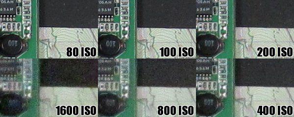Canon A1200 iso