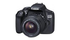 Black Friday – Reflex Canon EOS 1300D à 299€