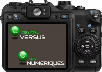 Canon PowerShot G10 derrière