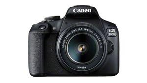 Bon plan – Reflex Canon EOS 2000D + 2 optiques à 499,99€