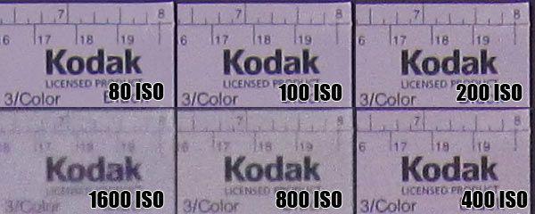 Canon Ixus 110 IS montée ISO