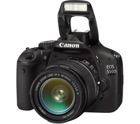 Canon EOS 550D + 18 - 55 mm