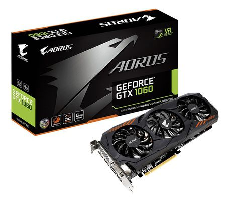 Aorus GeForce GTX 1060 6G