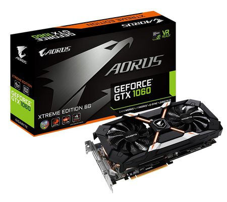Aorus GeForce GTX 1060 Xtreme Edition 6G