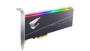 Aorus RGB AIC NVMe, un SSD au format PCIe ultrarapide et très coloré