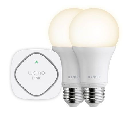 Belkin Pack de démarrage Wemo Led Smart Light