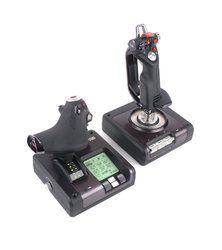 Saitek X52 Pro, un joystick futuriste et polyvalent
