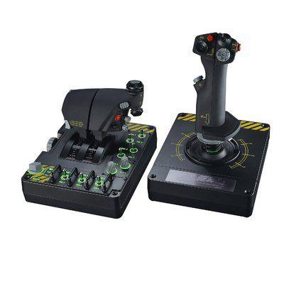 Saitek X-55 Rhino, un joystick bien armé