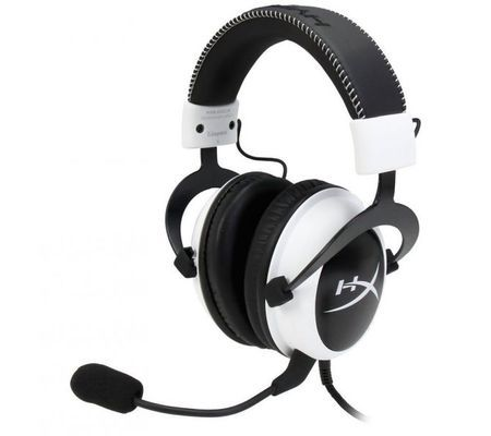 casque gamer hyperx cloud gaming headset silver