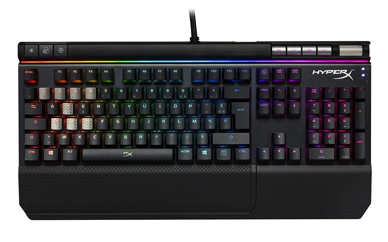 Le clavier gamer Hyper X Alloy FPS en promo chez Darty