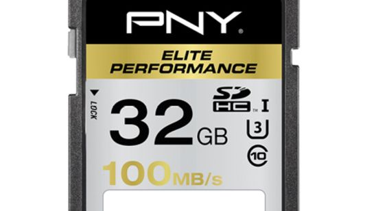 Carte SD PNY Elite Performance 256 Go : une vitesse honorable