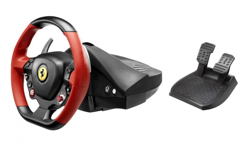 Thrustmaster ferrari 458 spider racing wheel : test prix et fiche