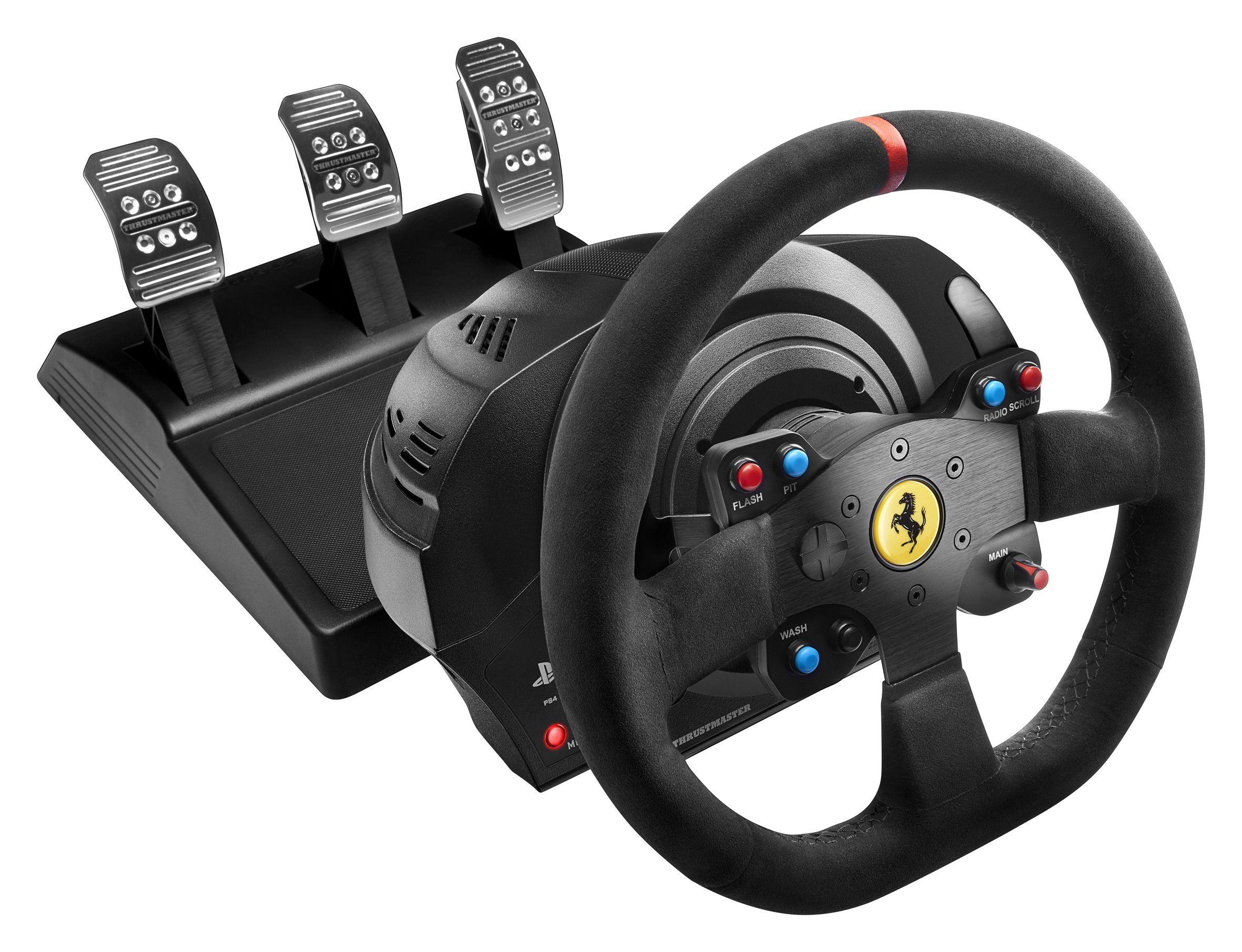 thrustmaster t300 ferrari integral racing wheel alcantara edition test complet volant les. Black Bedroom Furniture Sets. Home Design Ideas