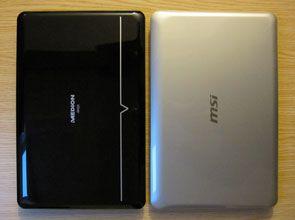 Medion Akoya S5611 vs MSI X-Slim X610
