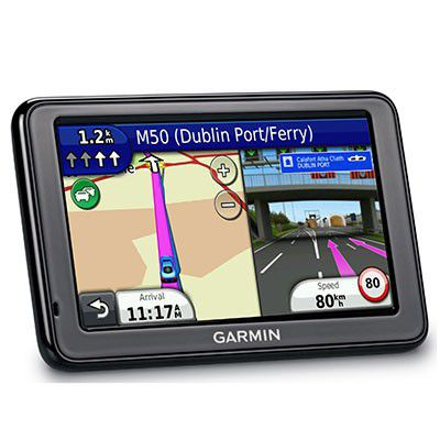 Garmin nüvi 2445LMT - Un GPS avec cartes à vie et info-trafic TMC Premium
