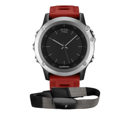 Garmin Fenix 3 Silver HRM Run