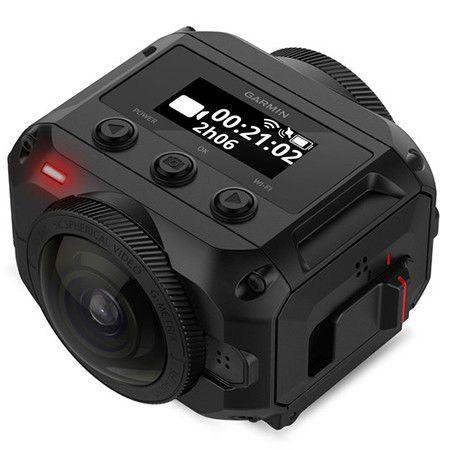 Test : Caméra Garmin Virb 360 : le virage 4K à 360° adapté aux sportifs
