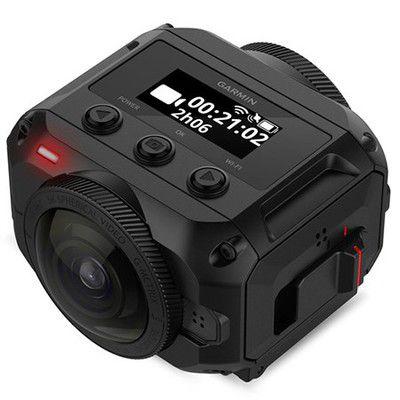 Caméra Garmin Virb 360: le virage 4K à 360° adapté aux sportifs