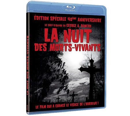 La nuit des morts-vivants (Romero/Restauration Blu-ray)