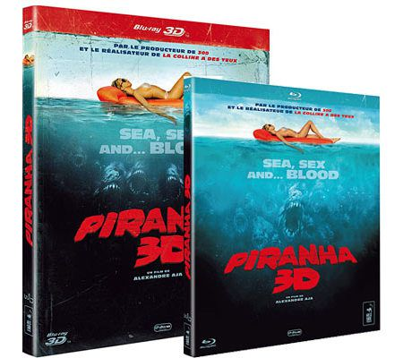 Piranha 3D (Blu-ray 2D/3D Anaglyphe et 3D Full HD)