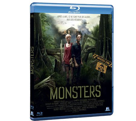 Monsters (Blu-ray, tournage HD)
