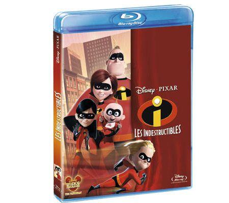 Les indestructibles (Réédition Blu-ray 2D - 2011)
