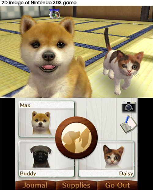 nintendogs cats