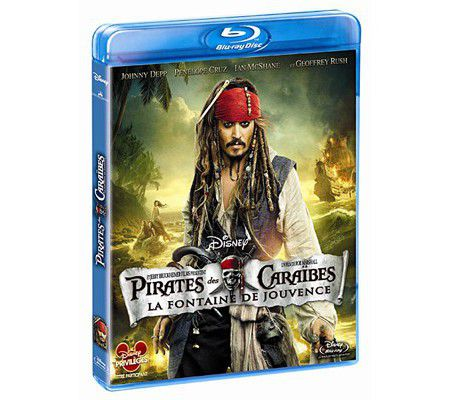Pirates des Caraïbes 4 -  La fontaine de jouvence