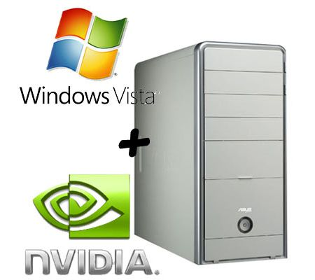 PC test configuration with Vista and NVIDIA