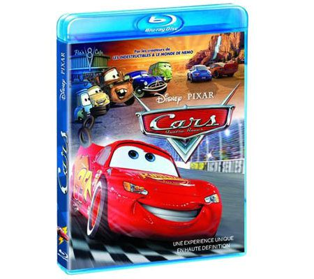 Cars (Disney/Pixar, réédition Blu-ray)