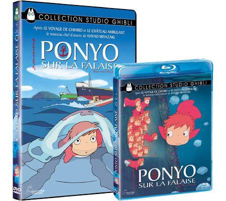 Ponyo sur la falaise (Miyazaki - 2009)