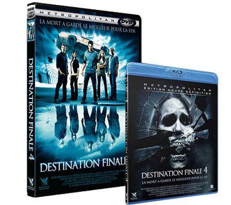 Destination finale 4 (Tournage HD en Dual-Strip 3D)