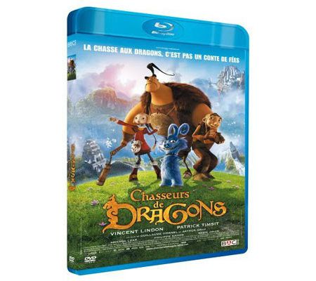 Chasseurs de dragons (animation - Blu-ray)