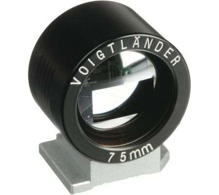 Voigtländer Viseur métal 75 mm